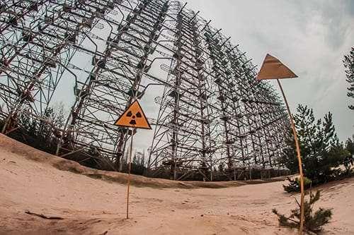 Секретная радиолокационная станция ДУГА