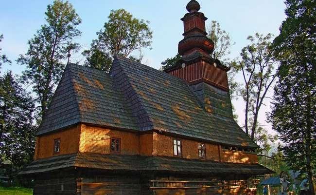 Церква XVIIІ ст. в селі Пилипець